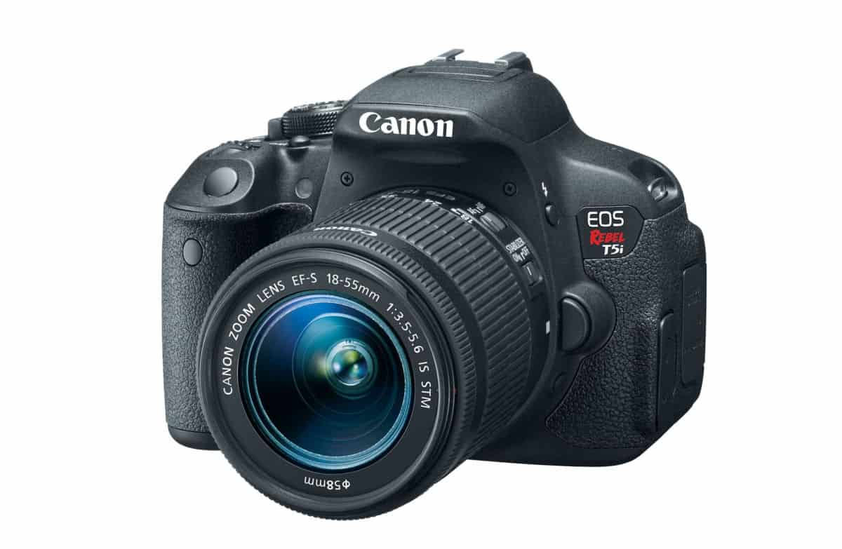 Canon EOS Rebel T5i EF-S 18-55 IS STM Kit | Best Vlogging Cameras On Amazon | cheap vlogging camera | video quality