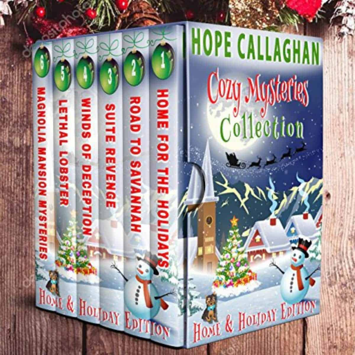 Mystery-Loving Brother: Cozy Mysteries Collection by Hope Callaghan | Top Kindle Books of 2018 | Gift Ideas For Each Member of the Family