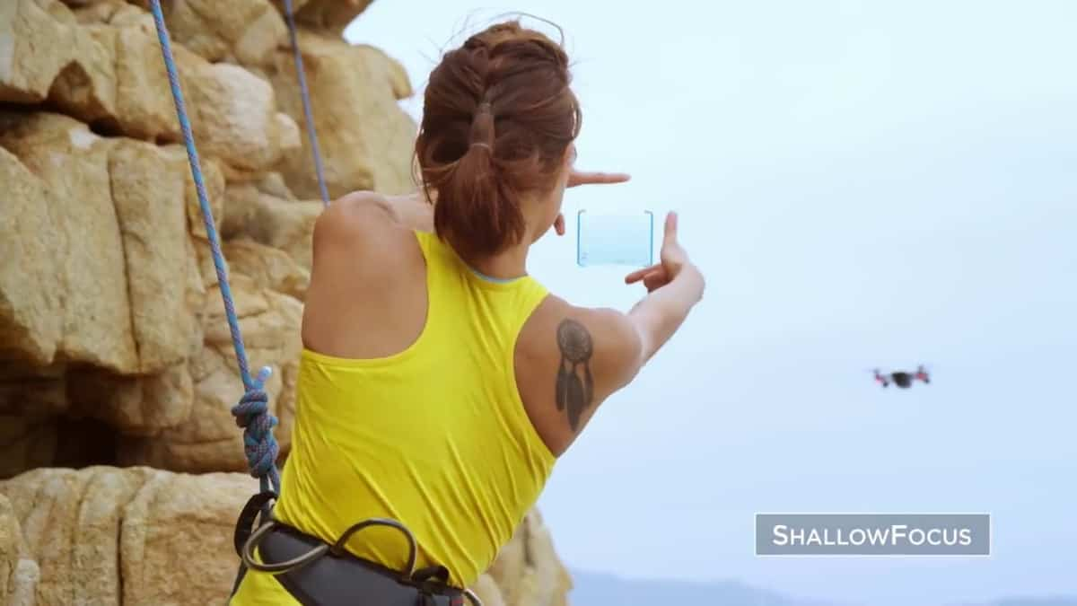 Rock climbing while taking selfie | The Benefits of Buying a DJI Spark | Dji Spark | 7 Most Popular Drone Reviews