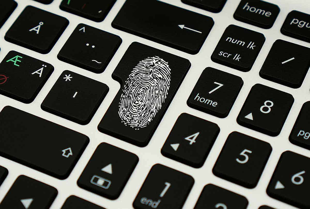 fingerprint as a security protection | Tech Resolutions For The New Year