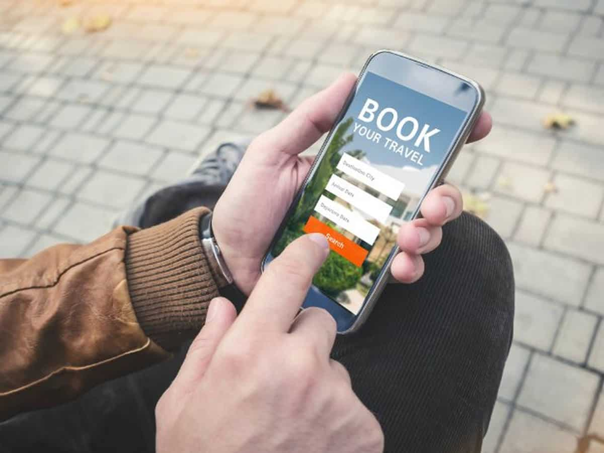 Booking travel using mobile phone | There's An App For That | Phone Apps For Anything and Everything