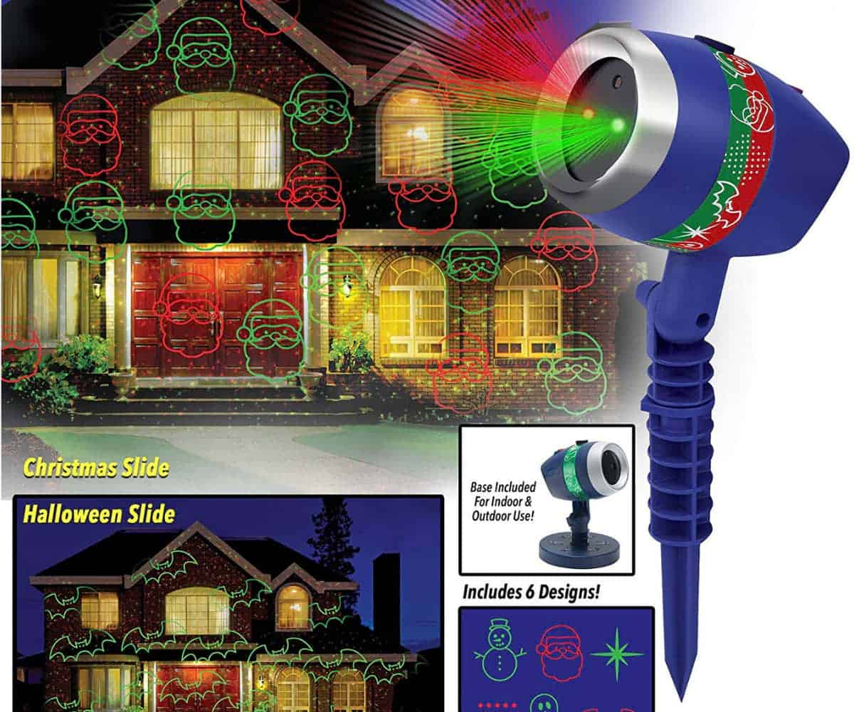 Star Shower Laser Magic | High Tech Christmas Decorations To Get Into the Festive Holiday Season