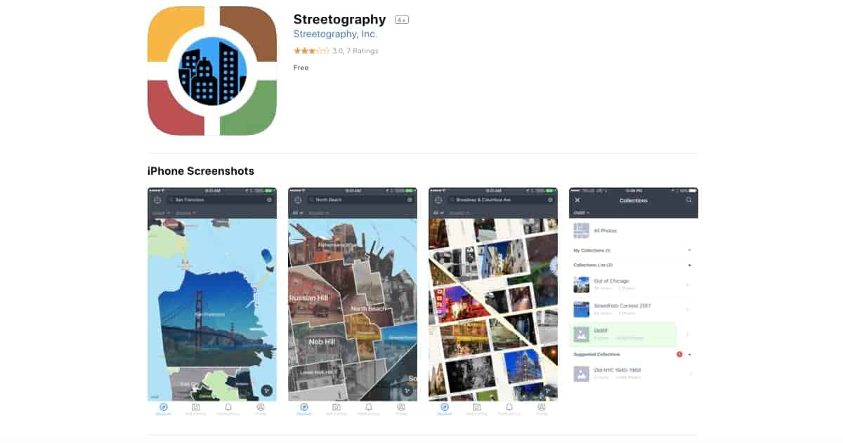 Streetography (iOS and Android) | Awesome Travel Apps That Can Help You Find the Best Vacation Spots