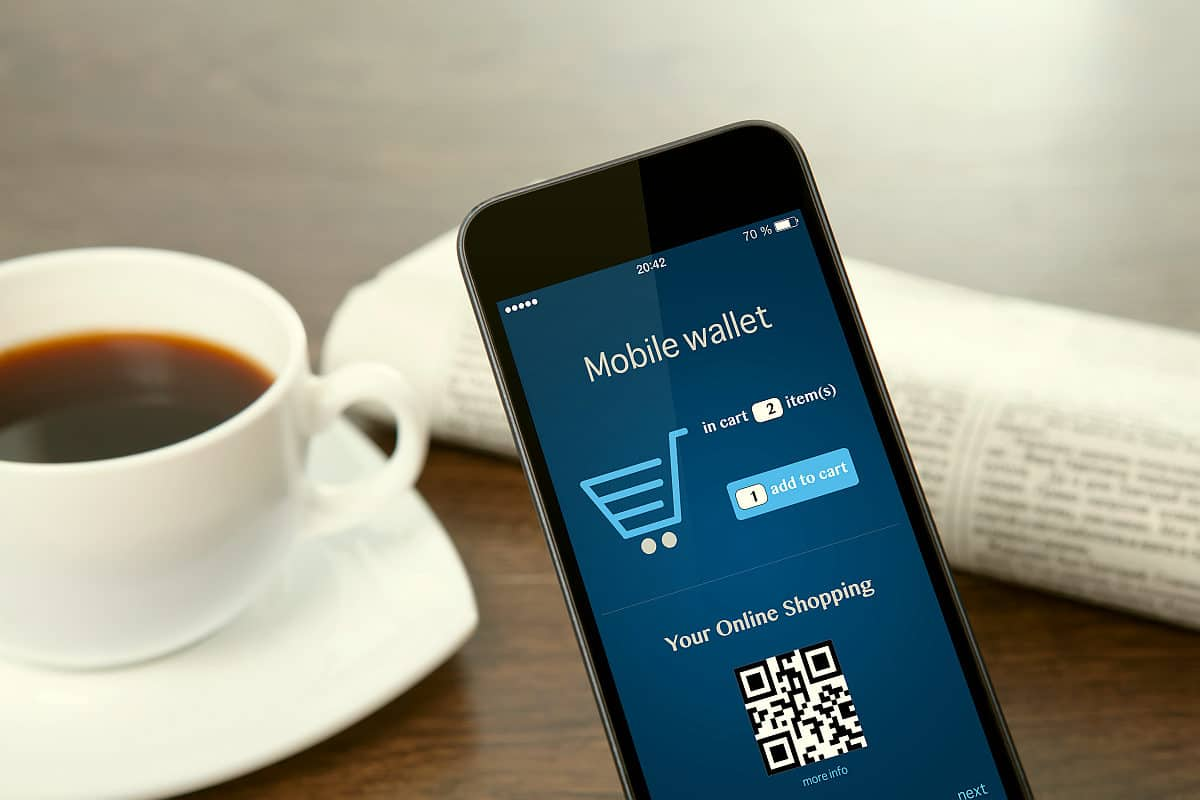 paying using mobile wallet | Tech Resolutions For The New Year