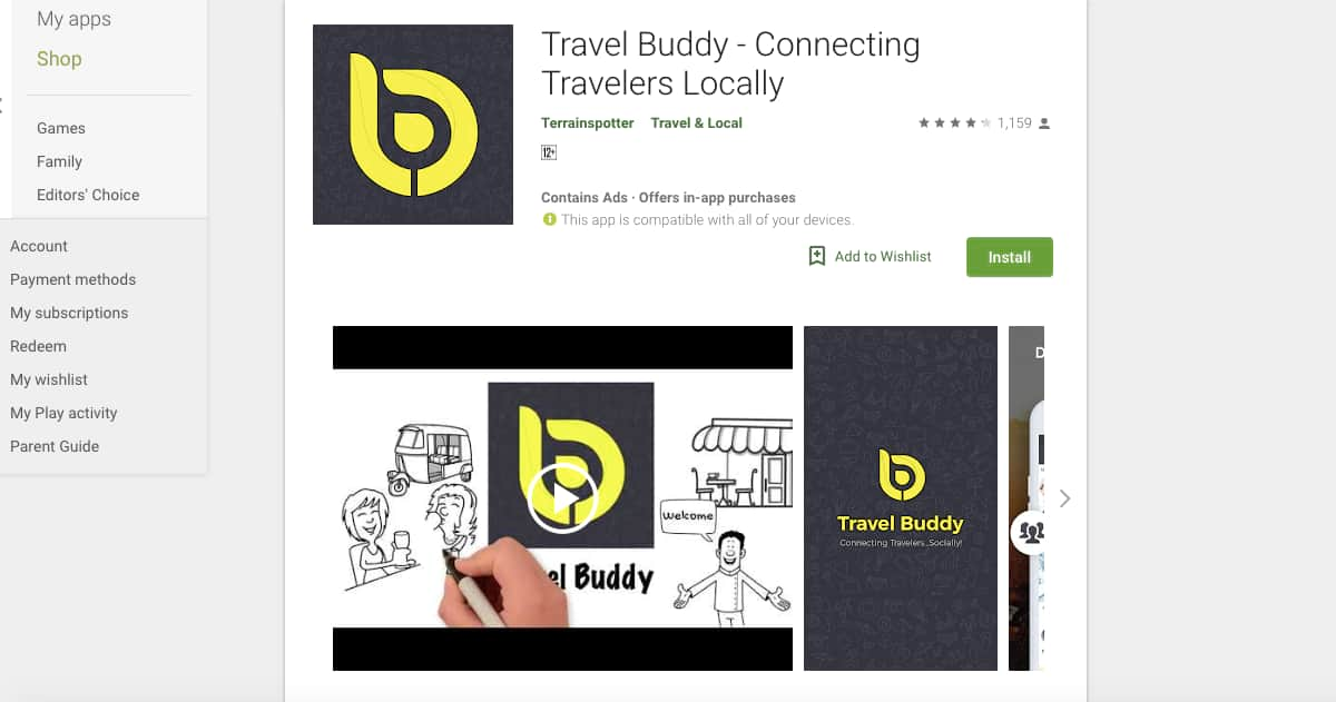 Travel Buddy (Android) | Awesome Travel Apps That Can Help You Find the Best Vacation Spots