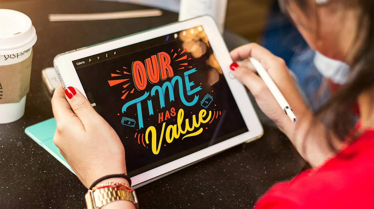 Feature | Creative design on an Ipad | Tech Resolutions For The New Year