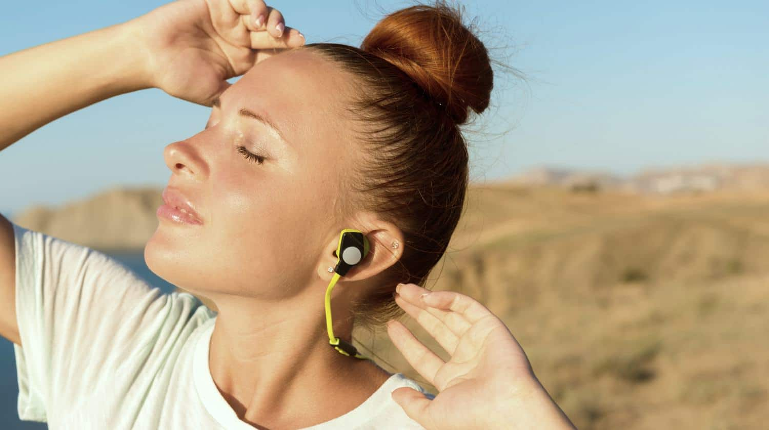 Feature | Woman listening music | Best Wireless Earbuds On Amazon