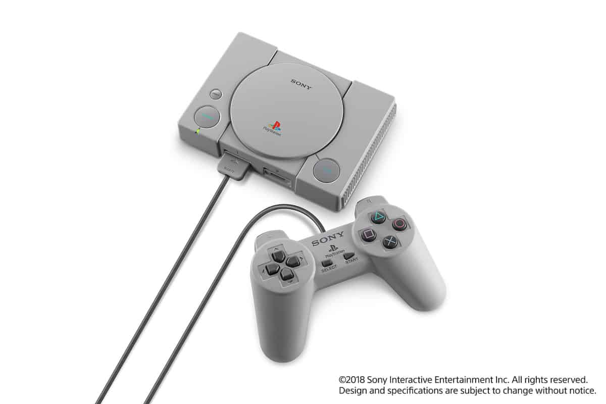 PlayStation mini and console | PlayStation Classic Cons | PlayStation Classic | A First Look At The PlayStation Mini Console