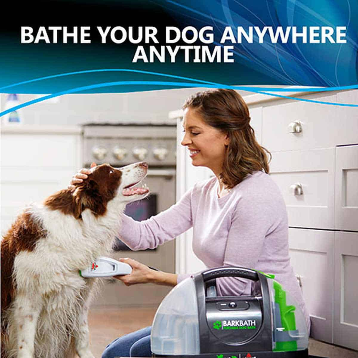 Bissell BARKBATH Portable Dog Bath and Grooming System | Must-Have Pet Tech For Your Cats and Dogs