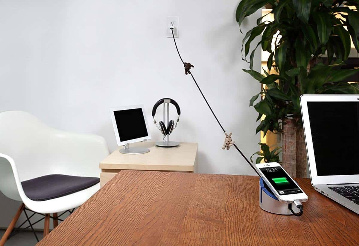 Just Mobile AluCable Duo Long Utility Cable | Top Entertainment Gadgets On Amazon For The Not So Tech-Savvy