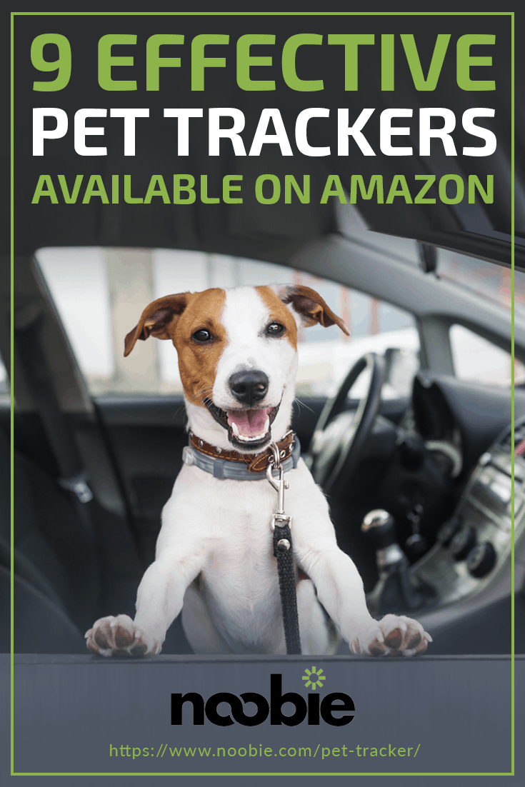 9 Best Pet Trackers Available On Amazon | https://www.noobie.com/pet-tracker/