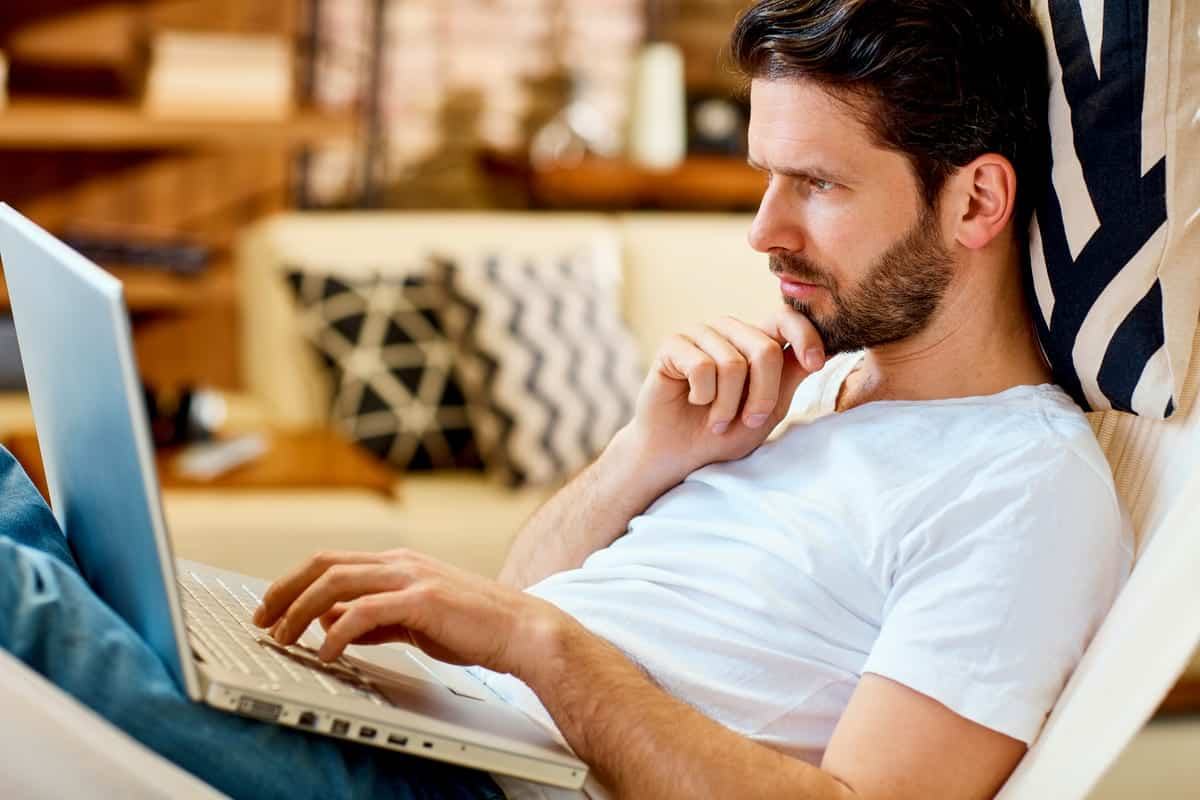 Man using computer | Google Search Tips, Tricks and Hacks To Level Up Your Internet Experience