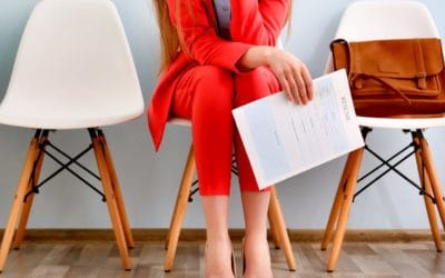 Feature | Woman waiting for interview | Google Docs Resume Templates To Ace Your Next Interview