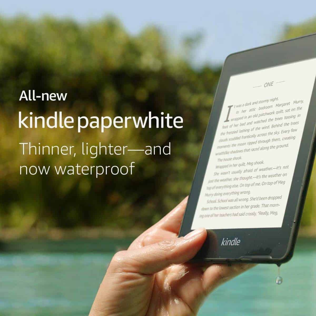 Kindle Paperwhite E-Reader | Valentine's Day Gift Ideas For Techies