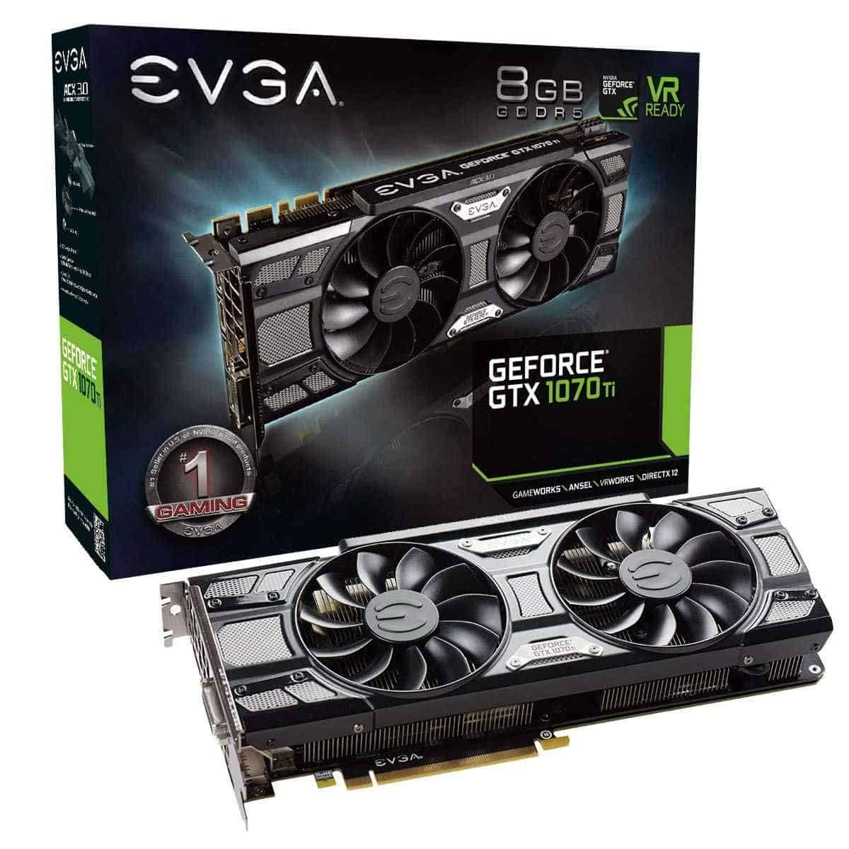EVGA GTX 1070 Ti | Best Graphics Cards For Gaming
