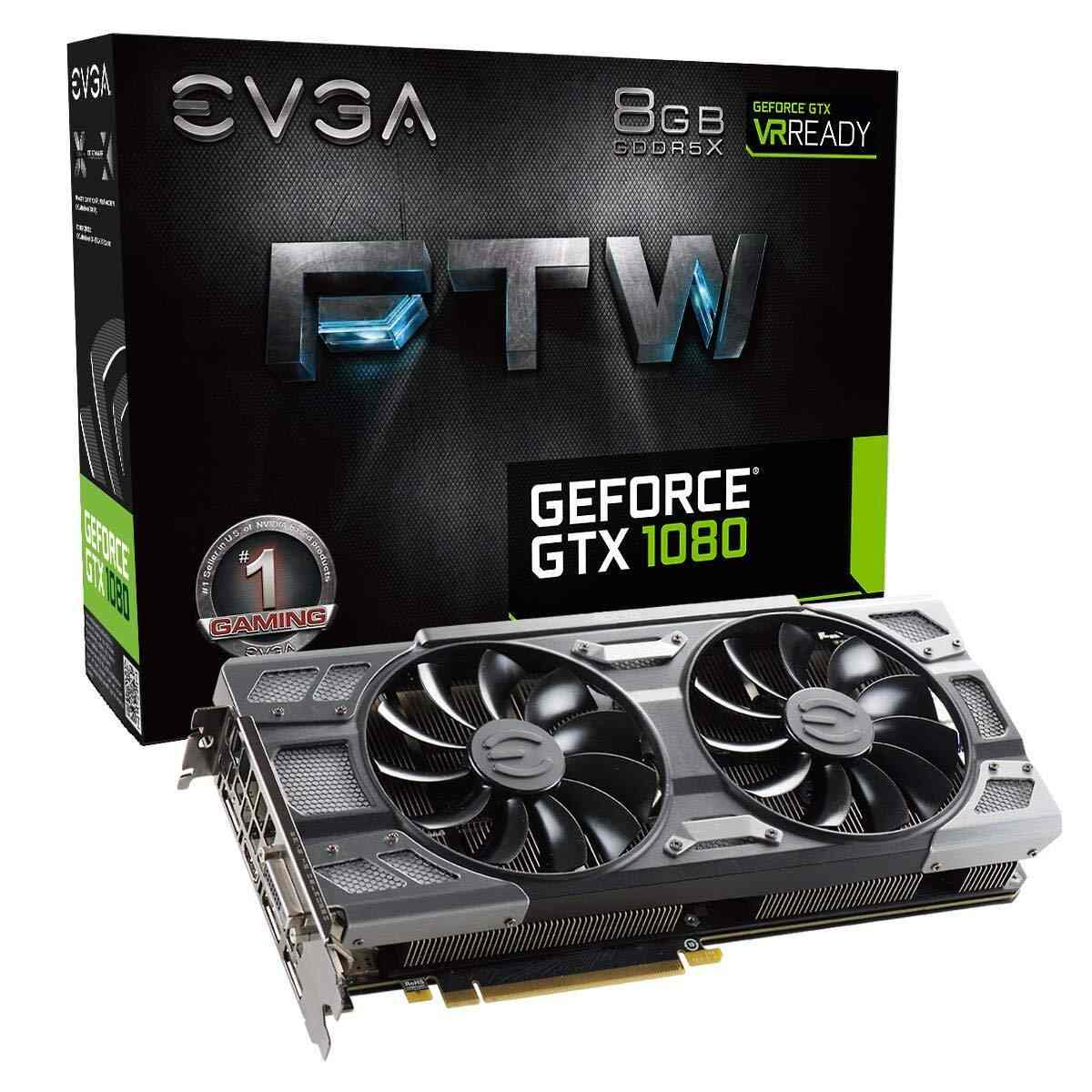 EVGA GeForce GTX 1080 FTW GAMING ACX | Best Graphics Cards For Gaming