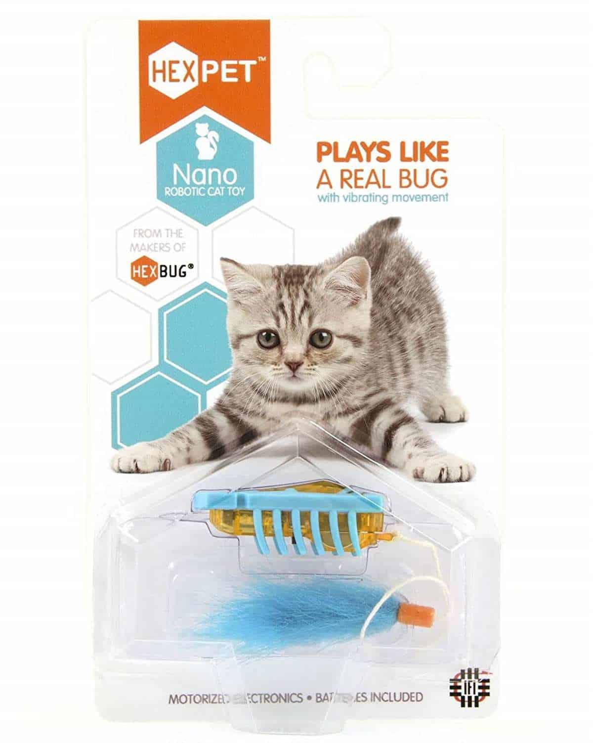 Hexbug Nano | Tech-Forward Pet Accessories To Share With Your Furry Friend