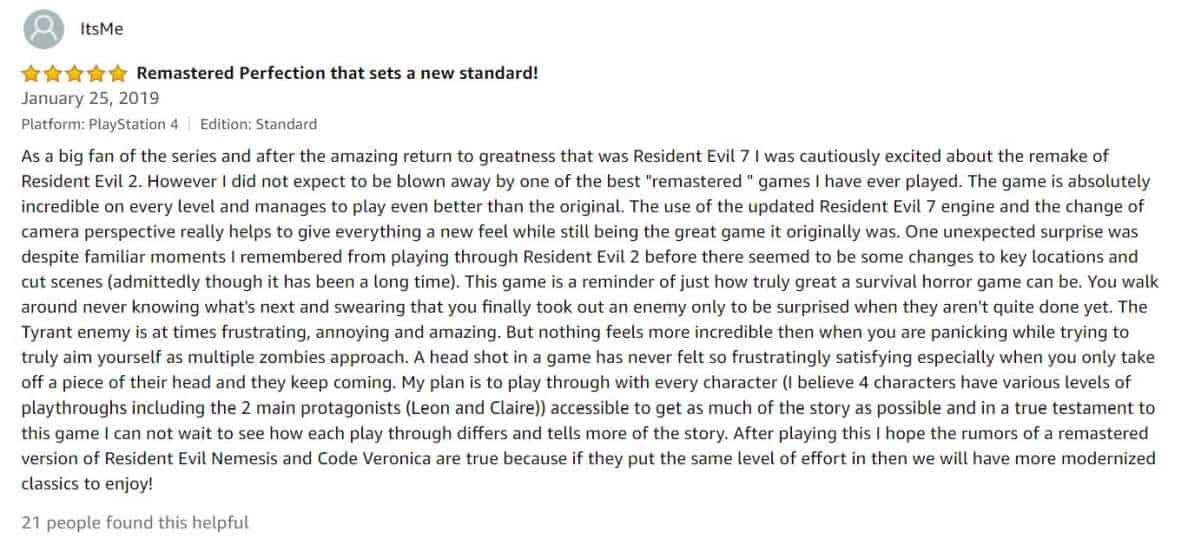 ItsMe Review | What Gamers Can Expect From The Resident Evil 2 Remake
