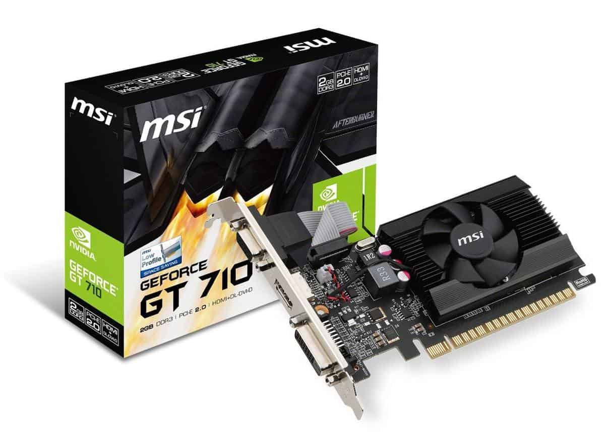 MSI GAMING GeForce 710 | Best Graphics Cards For Gaming