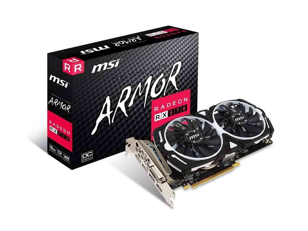 AMD Radeon RX 570 | Best Graphics Cards For Gaming
