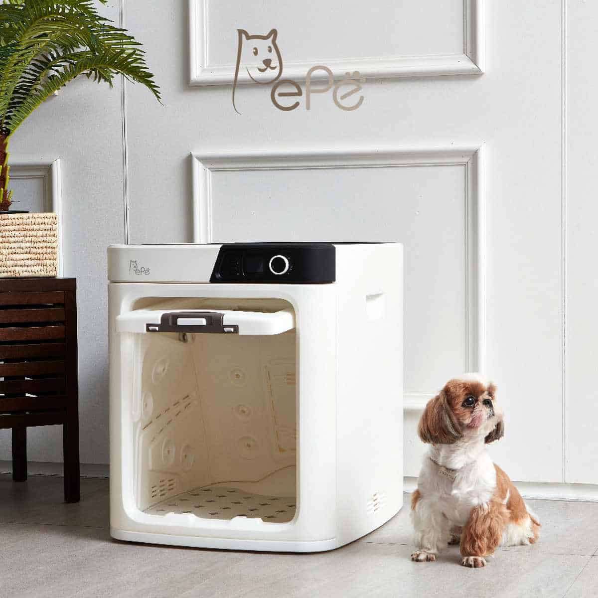 Pepe Pet Dryer | Tech-Forward Pet Accessories To Share With Your Furry Friend