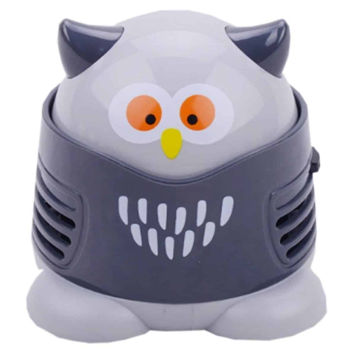 Portable Cartoon Mini Owl table Dust Vacuum Cleaner | Top Gadgets To Speed Up Your Spring Cleaning