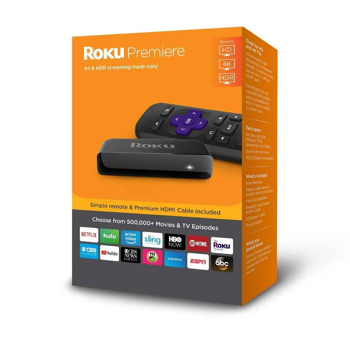 Roku Premier Plus | Best Streaming Devices on Amazon