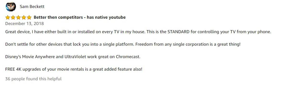 Sam Beckett Review | Chromecast 2 vs Chromecast Ultra: What's The Difference?