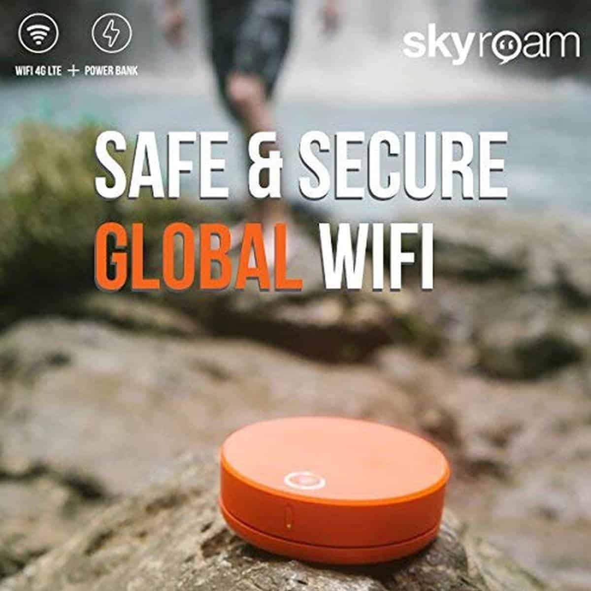Skyroam Solis | Must-Have Spring Break Travel Essentials