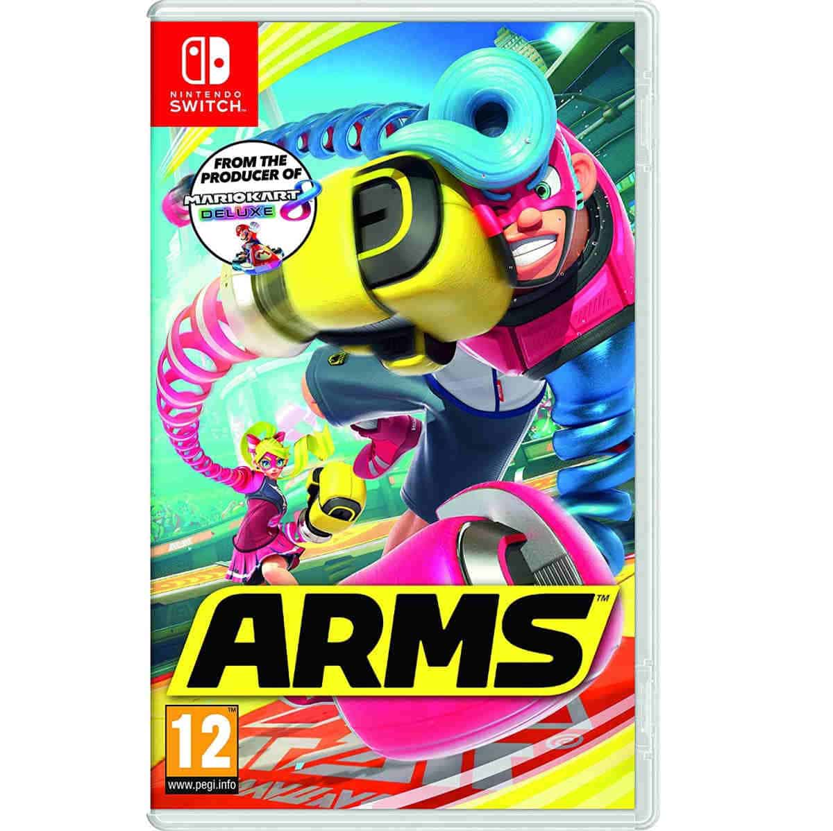 ARMS | Best Nintendo Switch Multiplayer Games