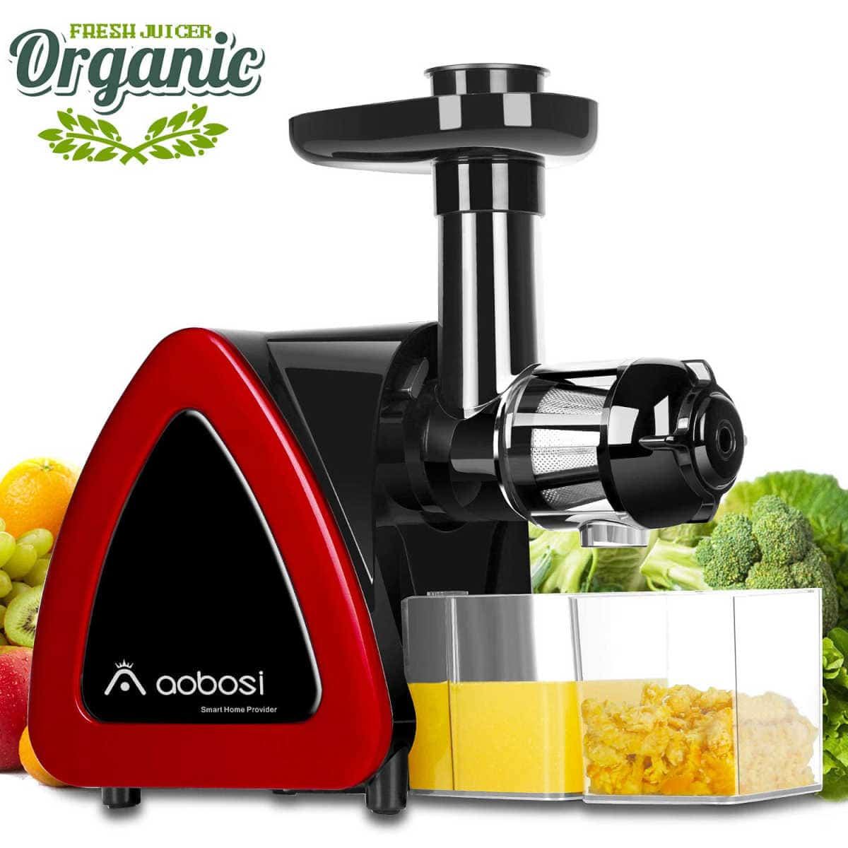 Aobosi Slow Masticating Juicer Extractor Compact Cold Press Juicer | Hey Alexa, Get These 21 Kitchen Appliances On Amazon