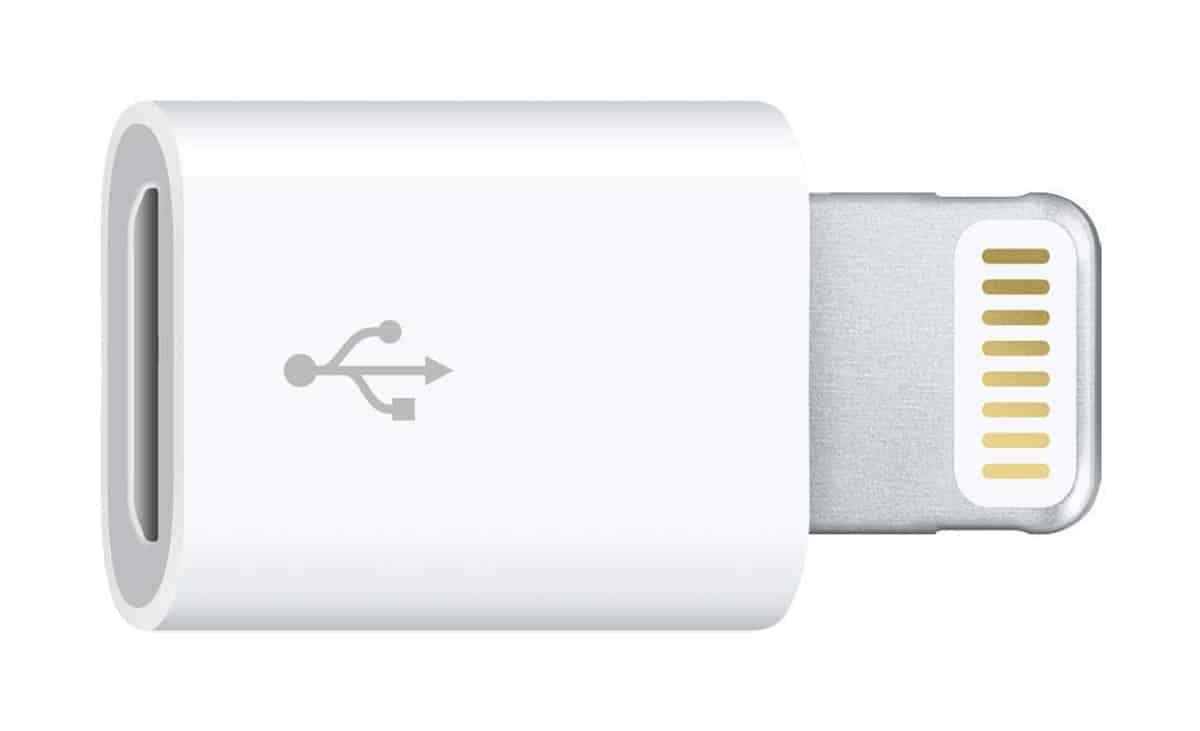 Lightning to Micro USB Adapter | Apple Dongles And Their Uses