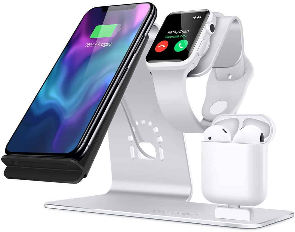 Bestand 3-in-1 Aluminum Wireless Apple Watch Charging Stand  | Apple Watch Accessories You Didn't Know You Needed
