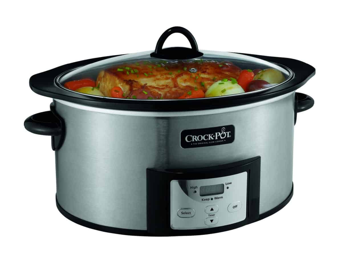 Crock-Pot 6-Quart Countdown Programmable Oval Slow Cooker | Hey Alexa, Get These 21 Kitchen Appliances On Amazon