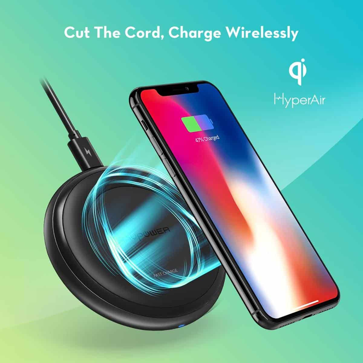 RAVPower Alpha Series Fast Charge Wireless Charging Pad | Top Rated iPhone Accessories