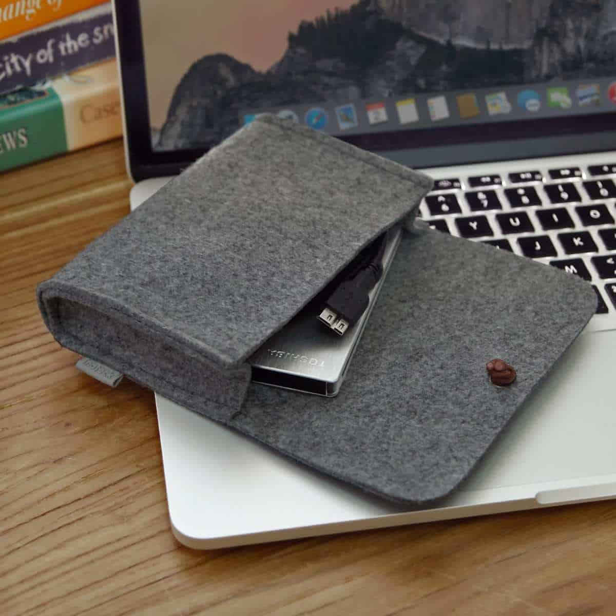 Inateck Felt Storage Pouch Bag Case | Best Macbook Accessories for 2019