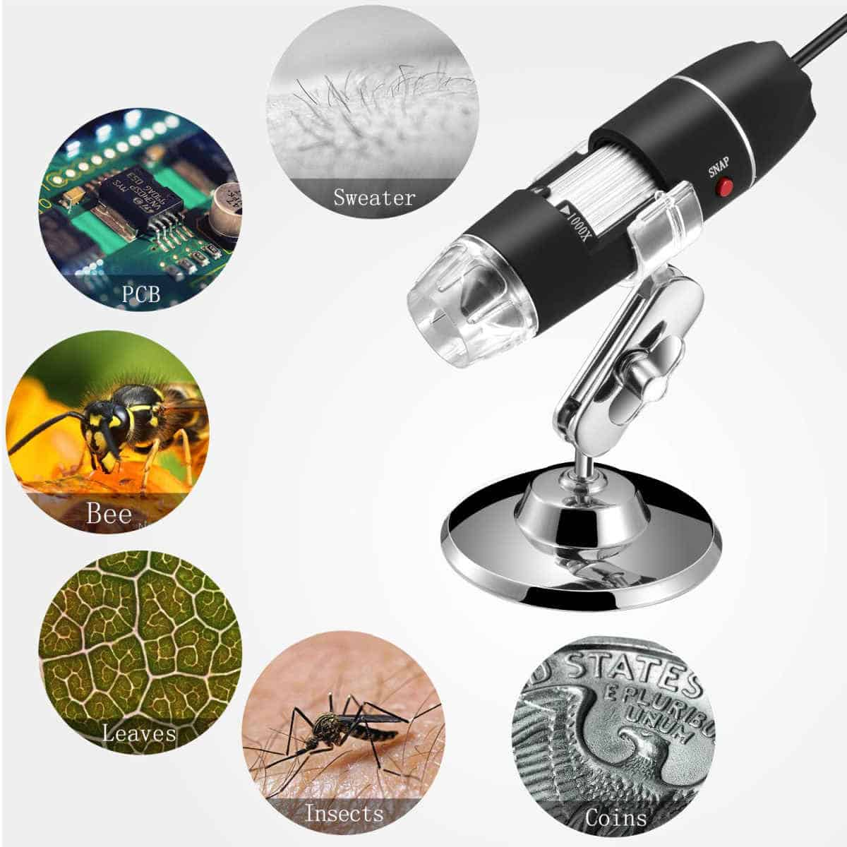 Jiusion Handheld Digital Microscope | Tech Toys The Kids Will Surely Love