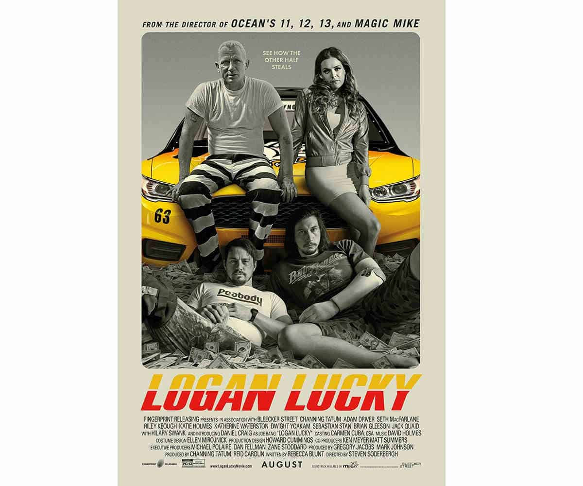 Logan Lucky | Best Amazon Prime Movies You Need To Watch This Year