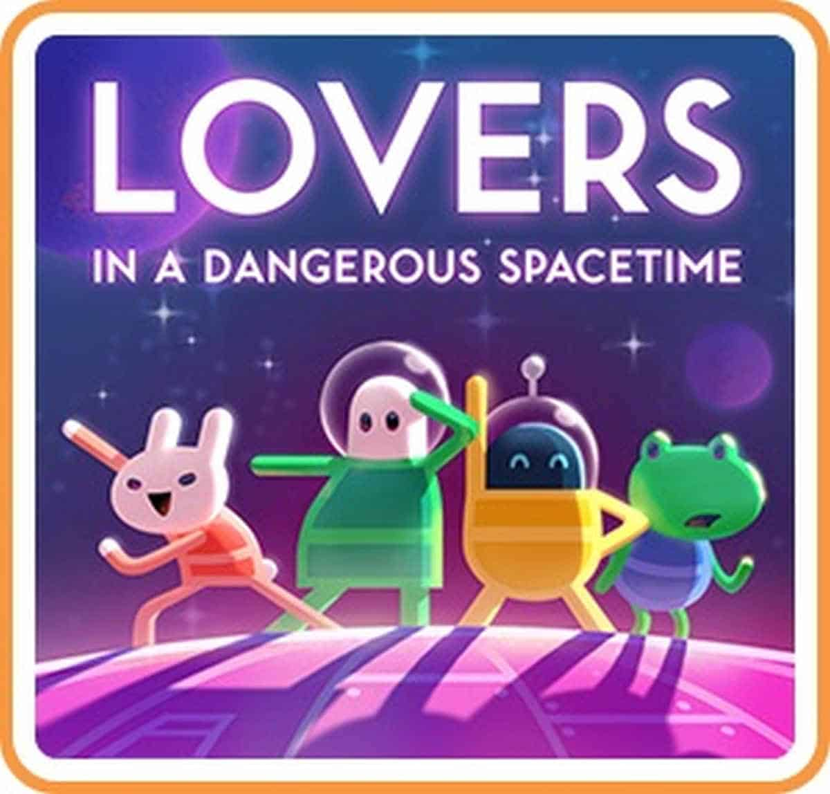 Lovers in a Dangerous Spacetime | Best Nintendo Switch Multiplayer Games