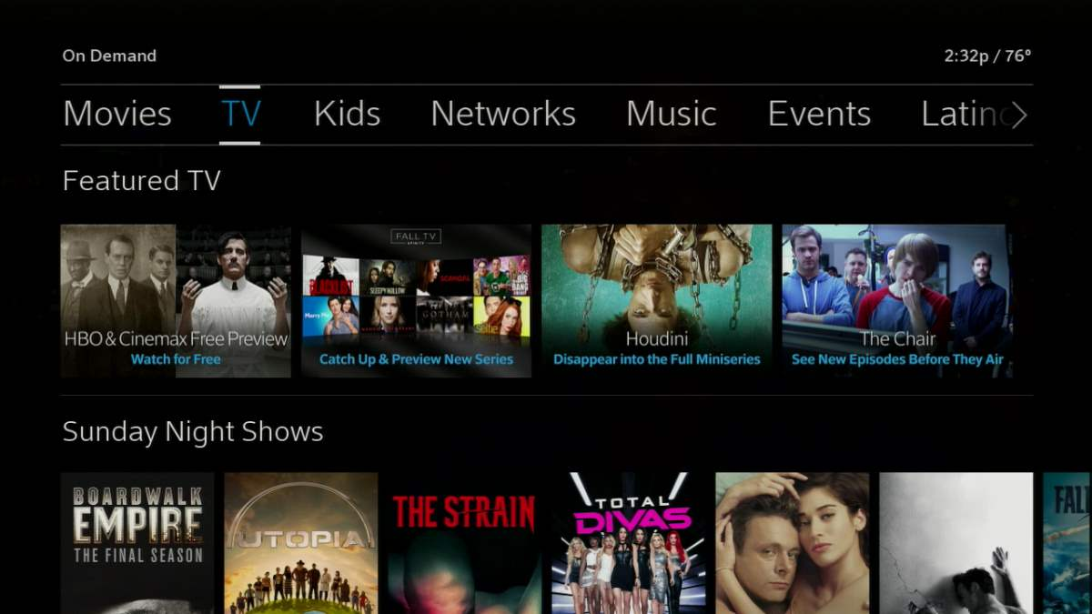 Xfinity X1 On Demand