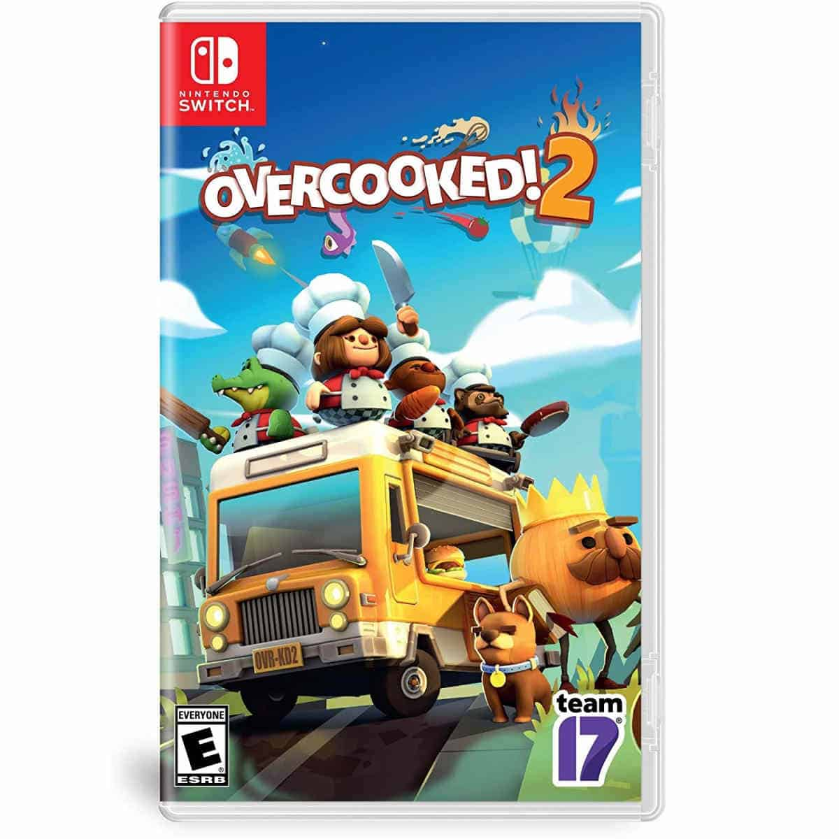 Overcooked 2 | Best Nintendo Switch Multiplayer Games