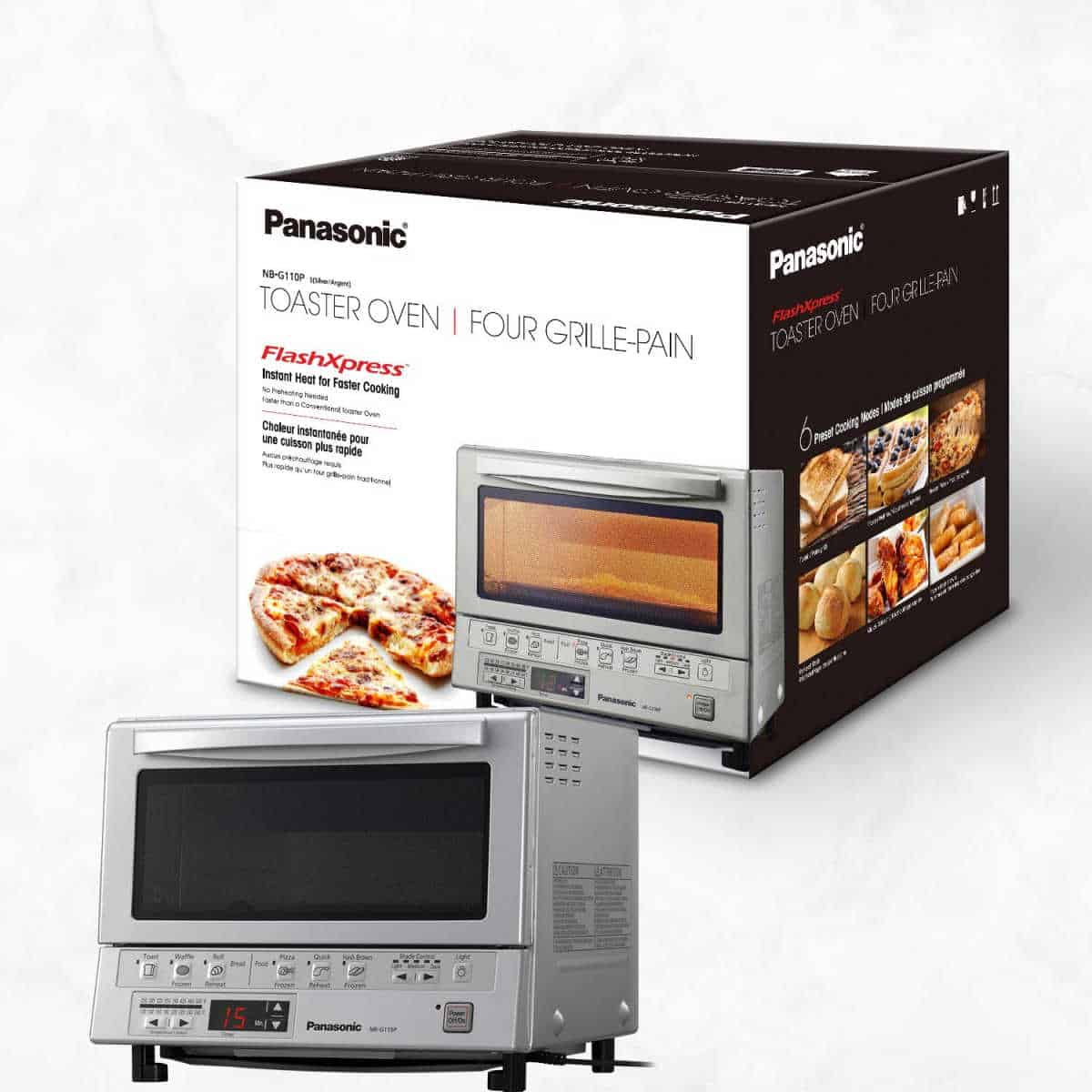 Panasonic FlashXpress Toaster Oven | Hey Alexa, Get These 21 Kitchen Appliances On Amazon