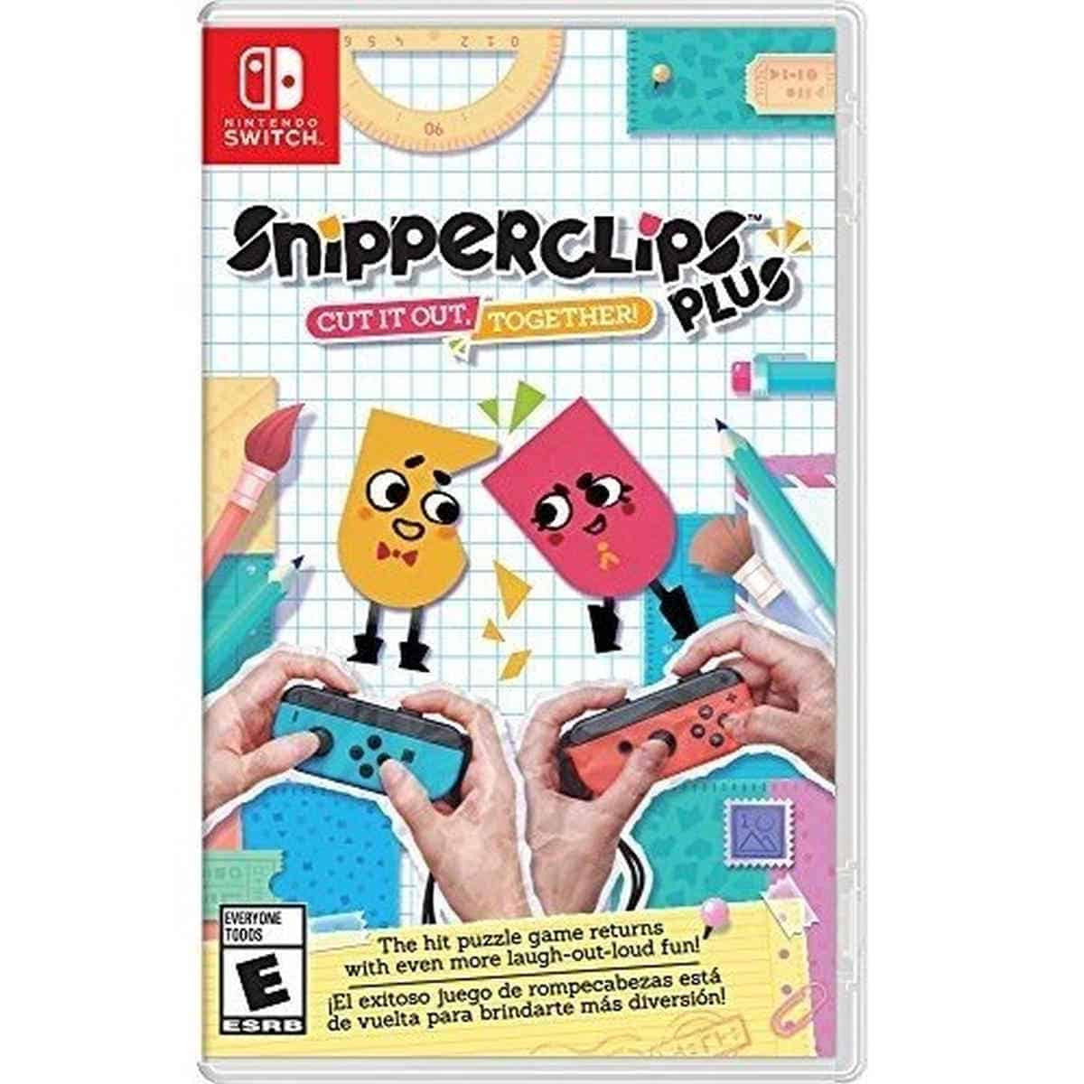 Snipperclips | Best Nintendo Switch Multiplayer Games