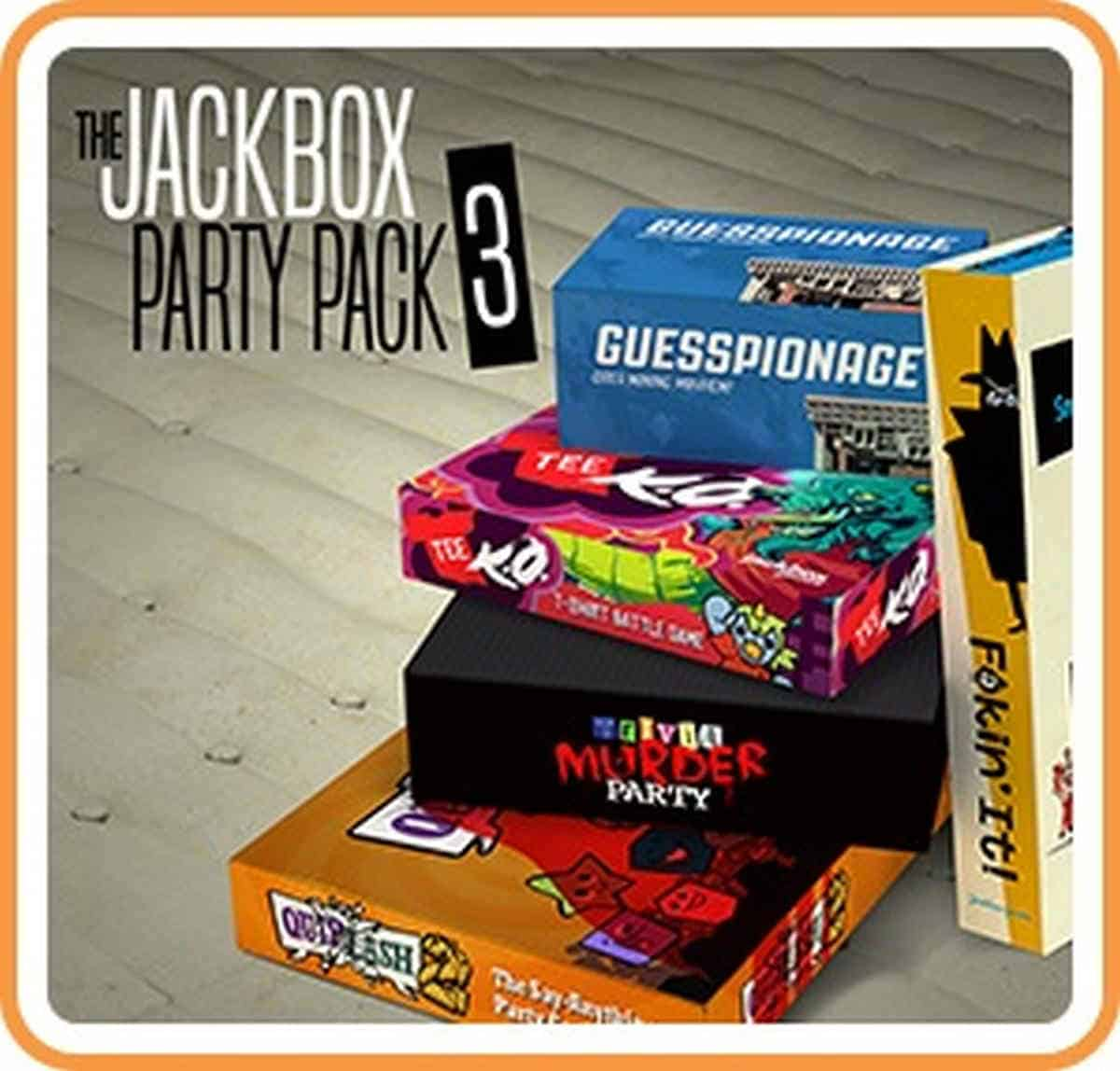 Jackbox Party Pack | Best Nintendo Switch Multiplayer Games