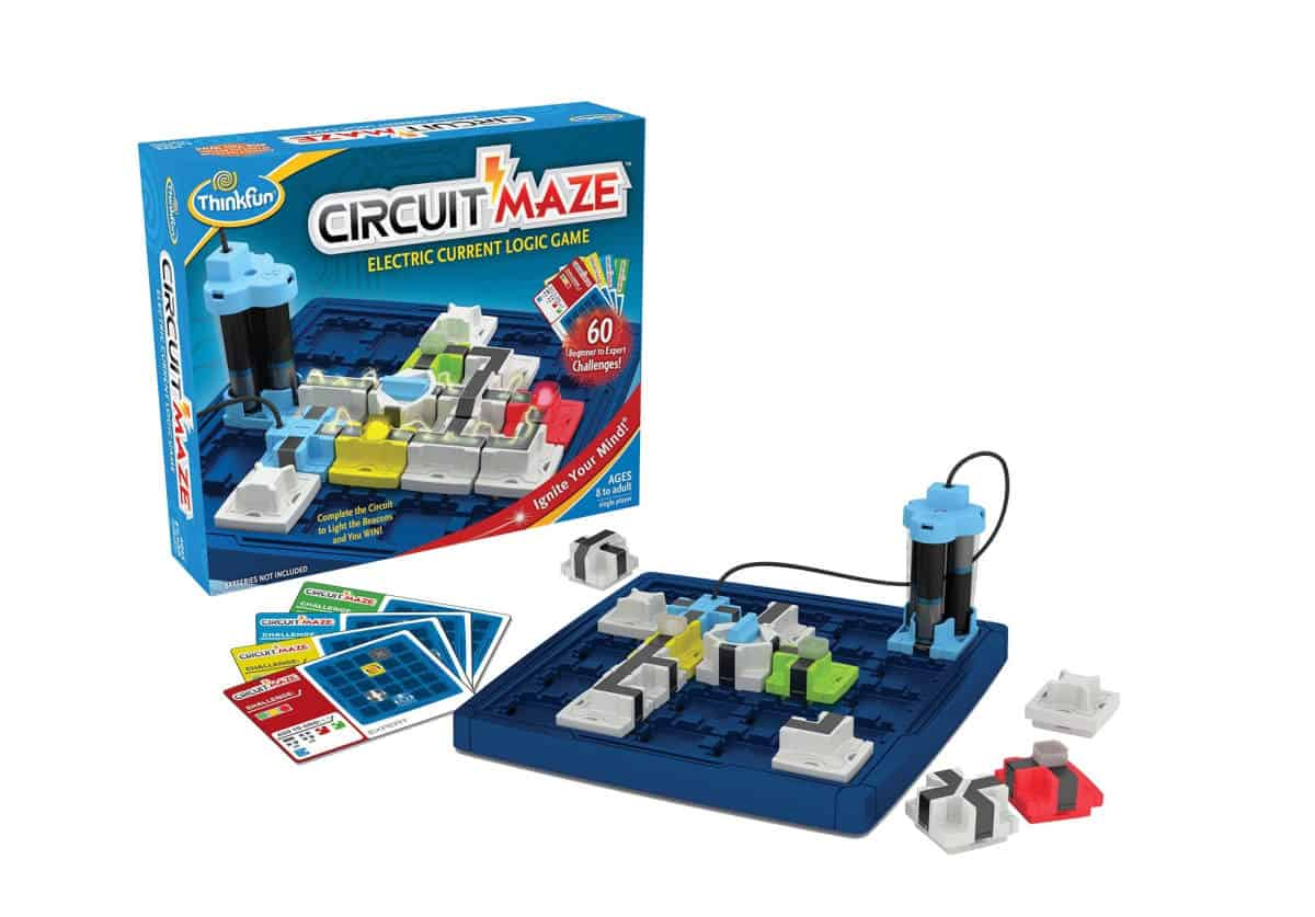 Circuit Maze Board Game | Tech Toys The Kids Will Surely Love