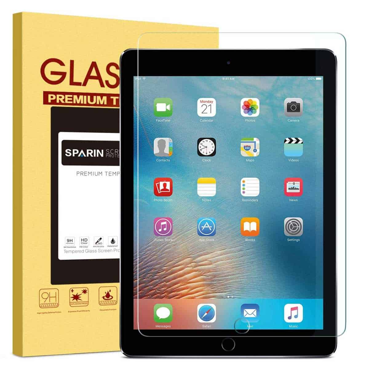 Sparin Tempered Glass Screen Protector | Essential iPad Accessories