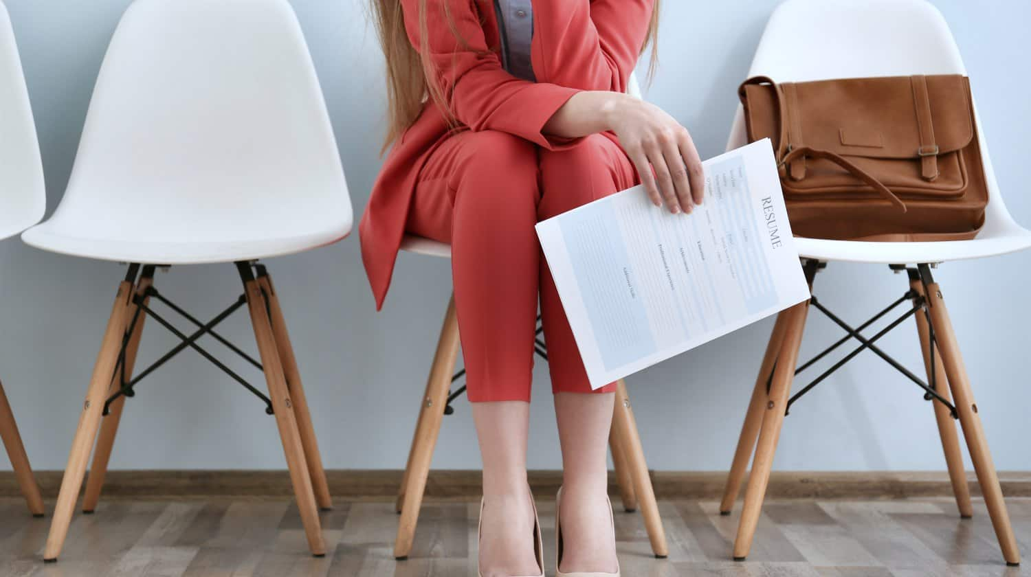 young woman waiting interview | Google Docs Resume Templates [Downloadable PDFs] | Google Docs resume template free | templates for Google Docs | Featured