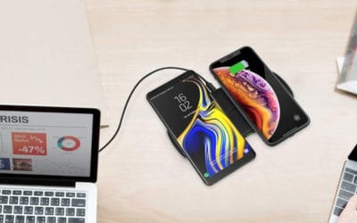CHOETECH Qi Fast Dual Wireless Charging Pad | Product Review