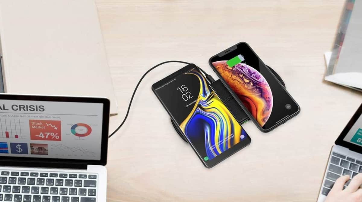 Feature | CHOETECH-Wireless-Charger | CHOETECH Qi Fast Dual Wireless Charging Pad | Product Review