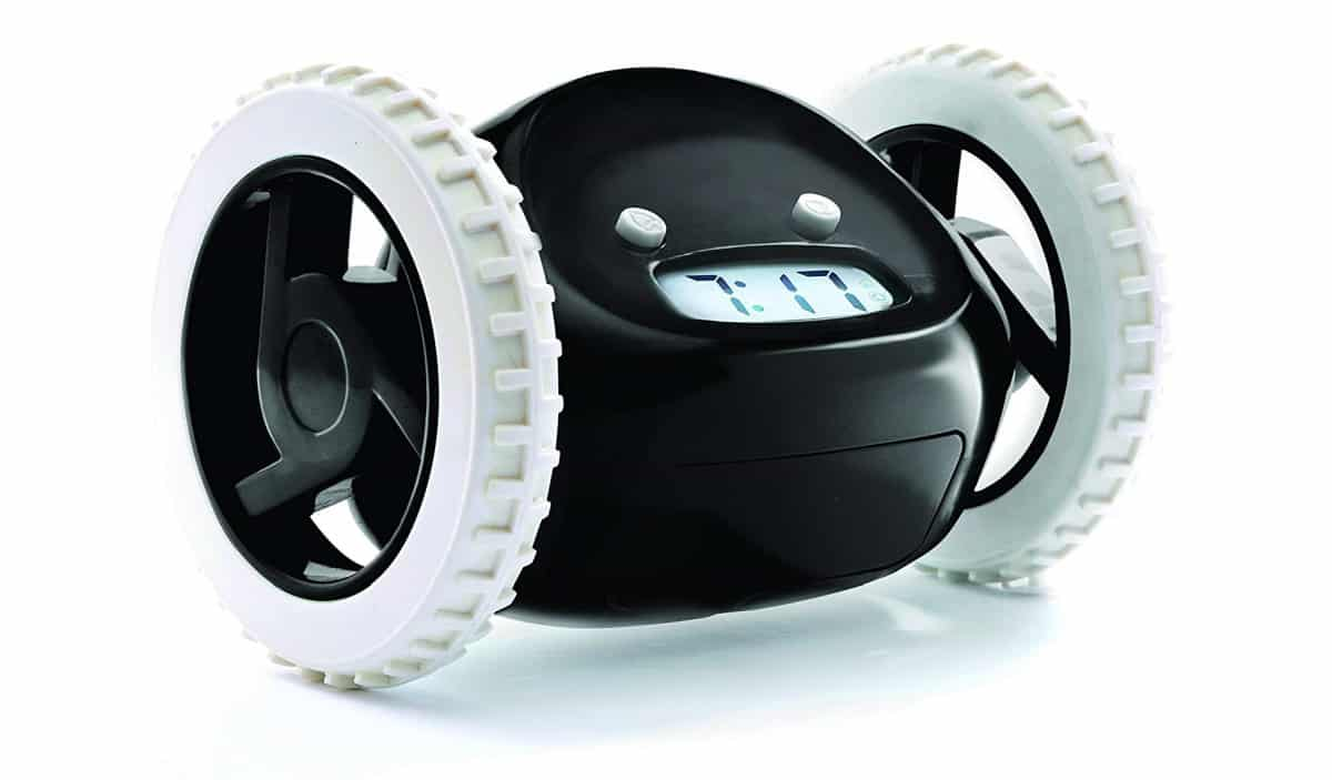 Clocky Alarm Clock on Wheels | Best Amazon Products You Never Knew You Needed